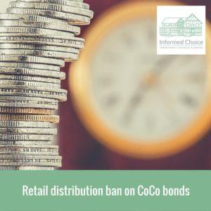 Retail distribution ban on CoCo bonds