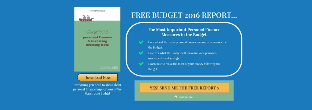 Budget 2016 Free Briefing Note