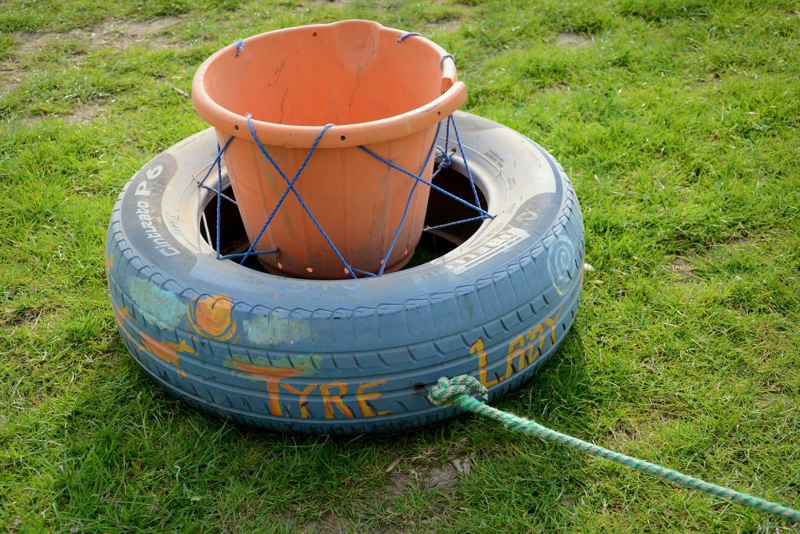 Dragging a tyre around a marathon - Informed Choice