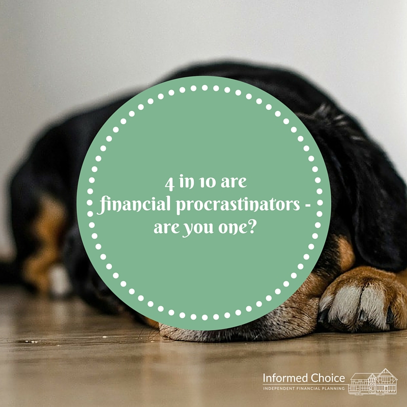 Are you a financial procrastinator?
