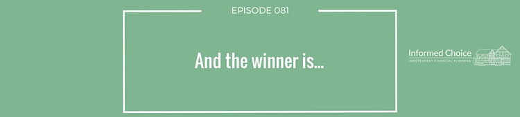 Podcast 081: And the winner is...