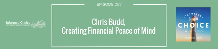 Chris Budd, Creating Financial Peace of Mind