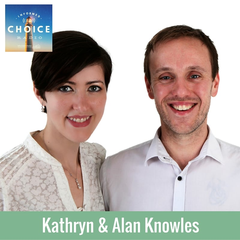 Informed Choice Radio 089: Kathryn & Alan Knowles, Life Insurance & Zombies