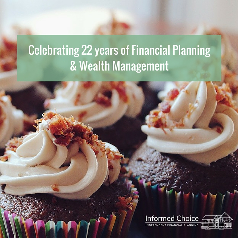 Celebrating 22 years of Financial Planning & Wealth Management