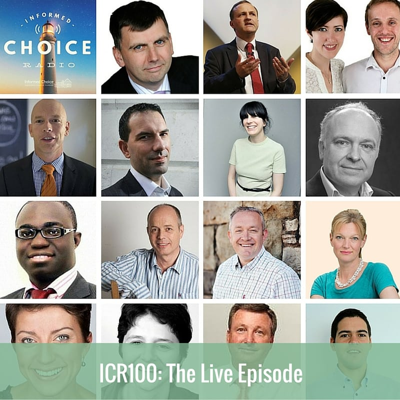 Informed Choice Radio 100: The Live Episode