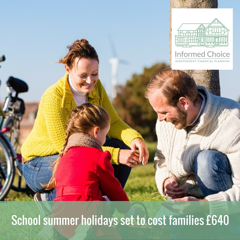 School summer holidays set to cost families £640