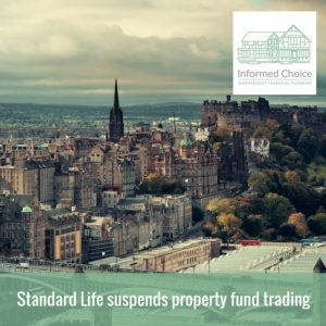 Standard Life suspends property fund trading