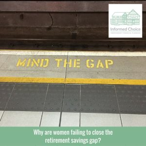 Why are women failing to close the retirement savings gap?