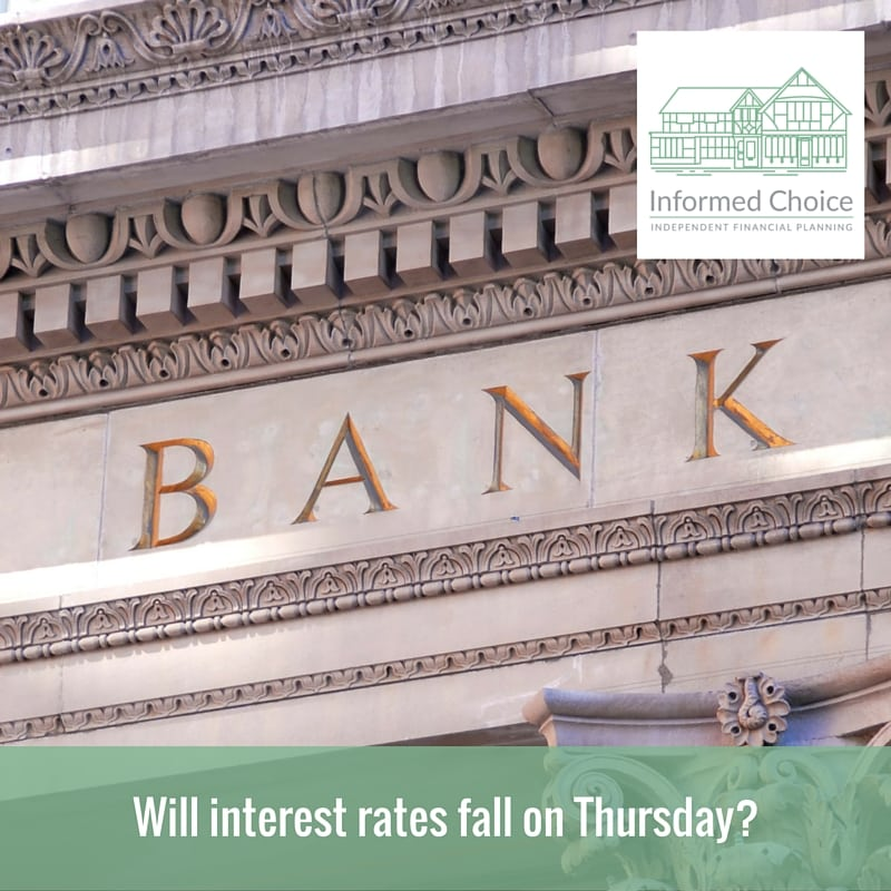 Will interest rates fall on Thursday?