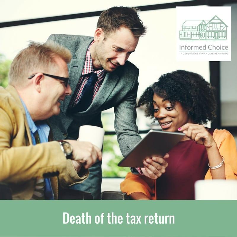 Death of the tax return