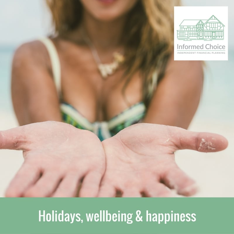 Holidays, wellbeing & happiness