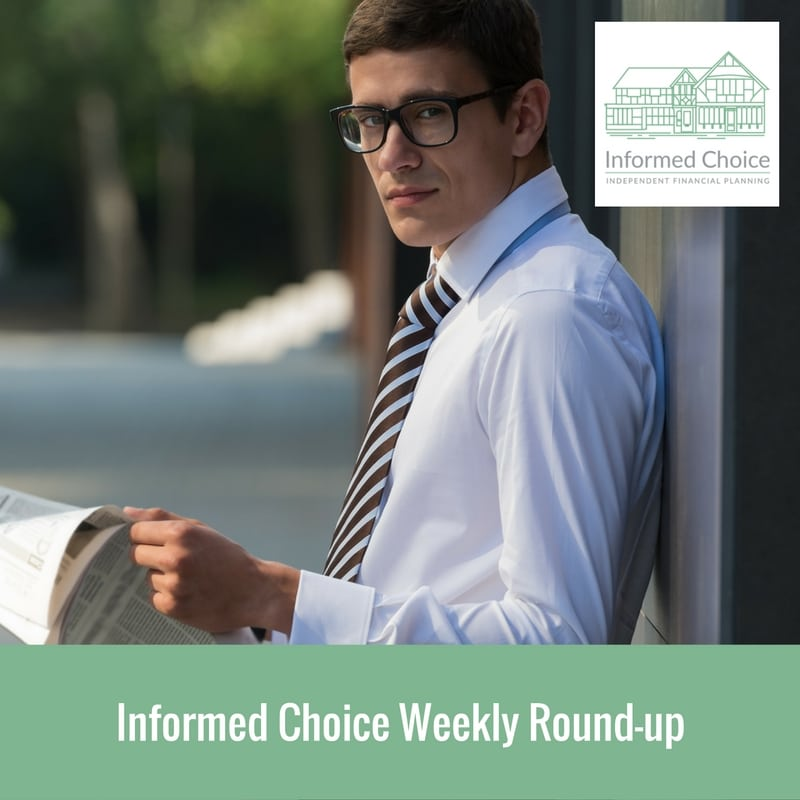Weekly Round-Up – Friday 21st October 2016
