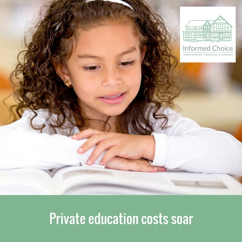 Private education costs soar