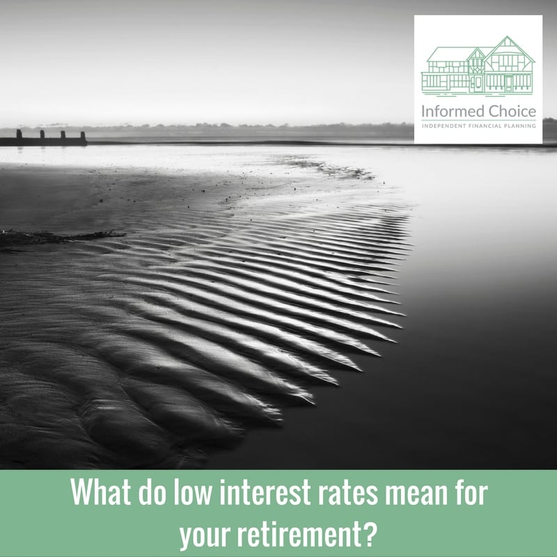 What do low interest rates mean for your retirement?