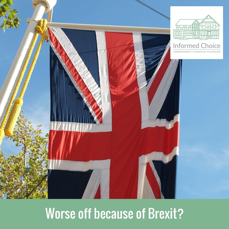 Worse off because of Brexit?