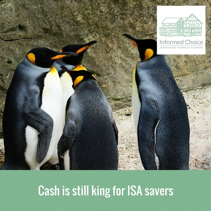 Cash is still king for ISA savers