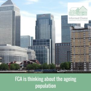 FCA is thinking about the ageing population