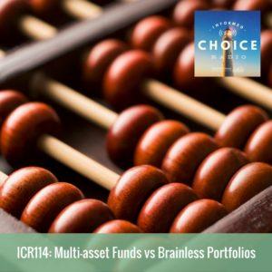 icr114 multi asset funds vs brainless portfolios