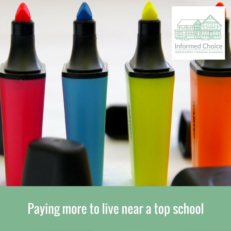 Paying more to live near a top school