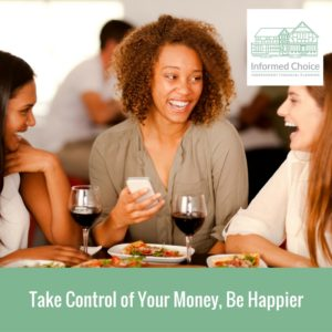take control of your money be happier