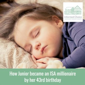 How Junior became an ISA millionaire by her 43rd birthday