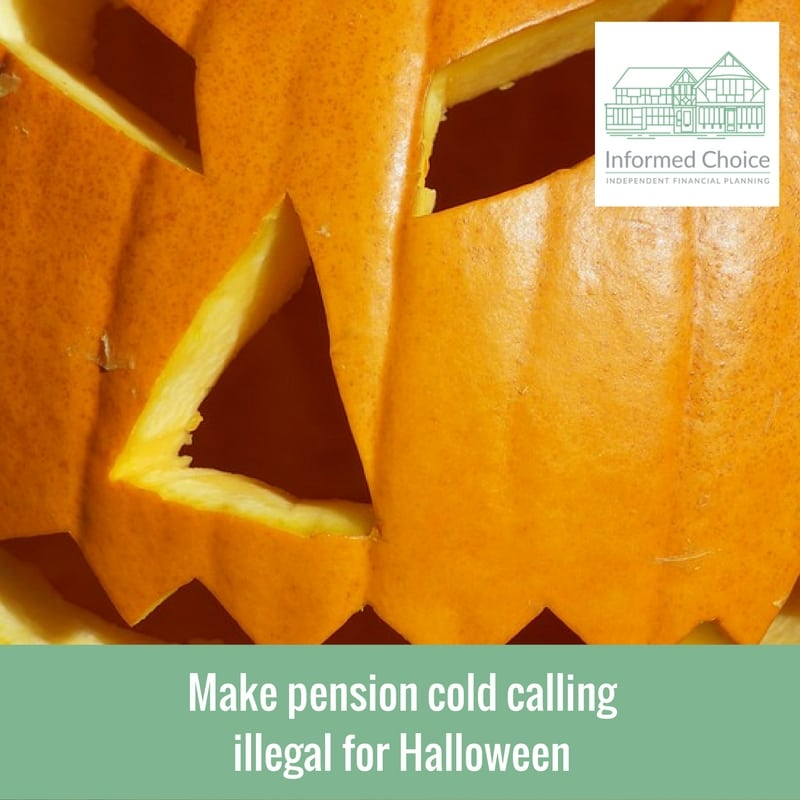 Make pension cold calling illegal for Halloween