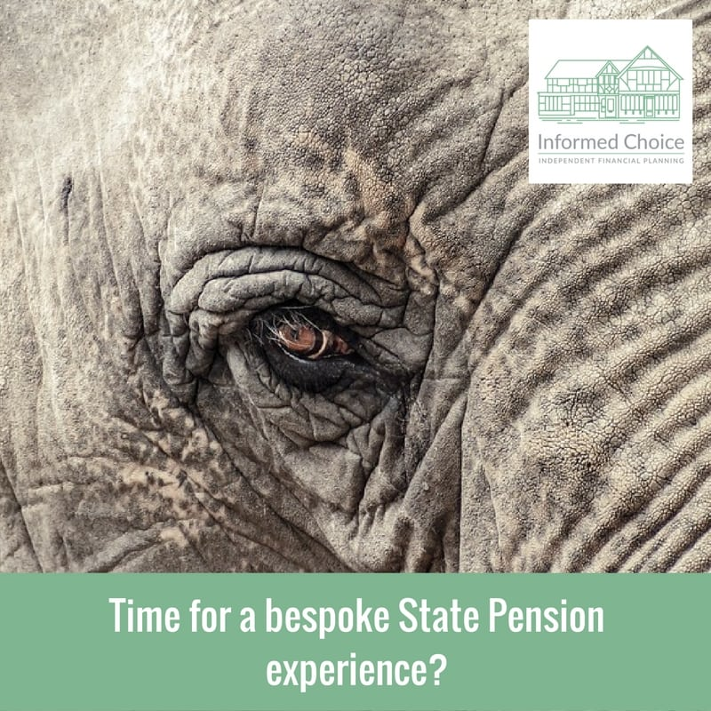 Time for a bespoke State Pension experience?