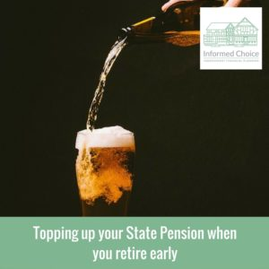Topping up your State Pension when you retire early