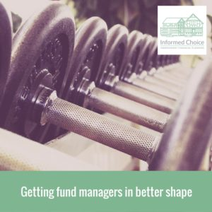 Getting fund managers in better shape