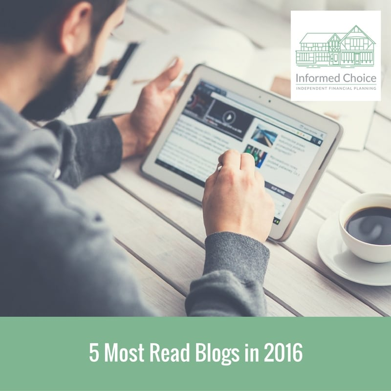 5 Most Read Blogs of 2016