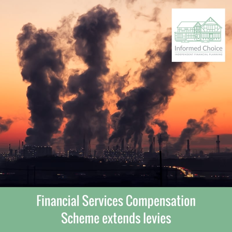 Financial Services Compensation Scheme extends levies