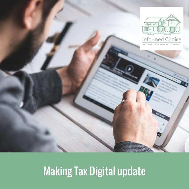 Making Tax Digital update