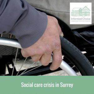 Social care crisis in Surrey