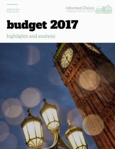Budget 2017 Briefing Note