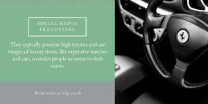 Be vigilant to social media fraudsters