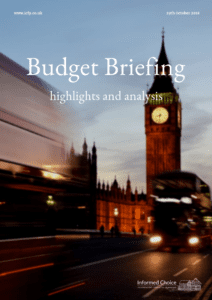 Budget Briefing Note